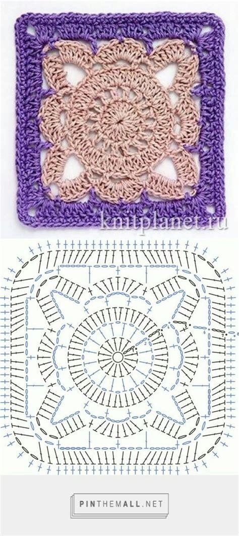 piastrelle crochet schemi moduli quadrati a uncinetto tutti con schema grafico
