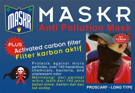 Masker Merk Sensi masker maskr carbon panjang