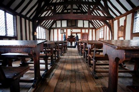 shakespeares schoolroom  guildhall
