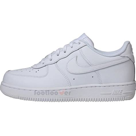 boys white sneakers nike air 1 one ps 314193 117 boys leather white