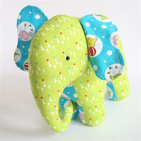 Patchwork Elephant Pattern - trunk show elephant sewing pattern patchwork elephant