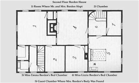 lizzie borden house floor plan lizzie borden house plan house design plans