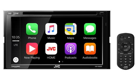 Laptop Apple Kw jvc kw v830bt 6 8 quot din car stereo with android auto and apple car play