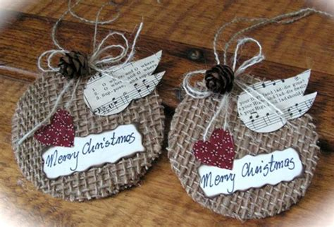 15 best photos of burlap crafts for christmas burlap