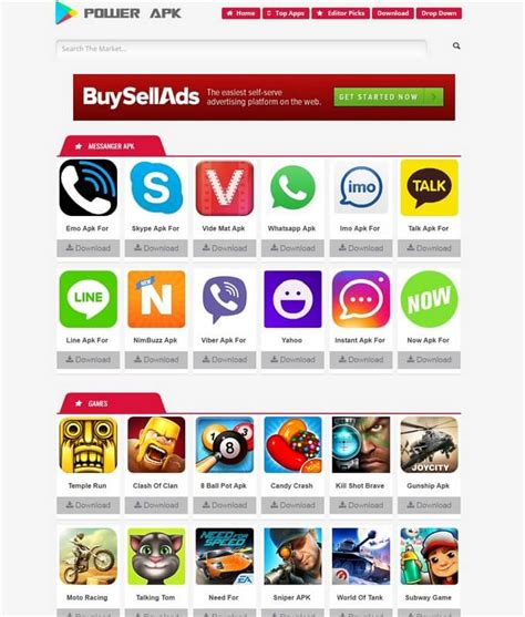 apk themes power power apk blogger template free download
