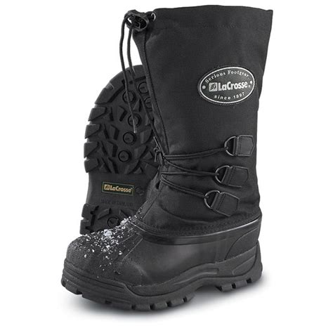 s lacrosse 174 pac boots black 87071 winter