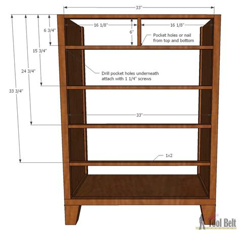 Bedroom Dresser Building Plans Dresser With Tapered Legs Tool Belt