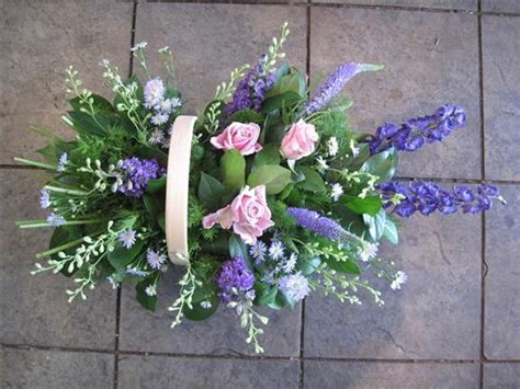 Funeral Baskets by Funeral Basket Funeral Flowers Letchworth