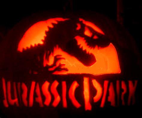 free printable pumpkin carving stencils jurassic park pumpkin pic ing volume 2 by wallcrawler383