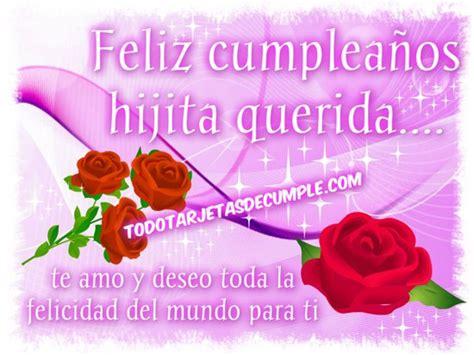 imagenes feliz cumpleaños hija para facebook feliz cumplea 241 os hija