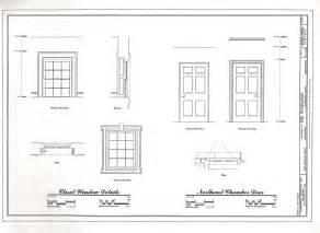 Floor Plan And Elevation Of A House Heritage Documentation Programs Habs Haer Hals Crgis