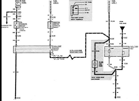 1986 ford f350 wiring diagram 1986 ford f350 with 460 elec fuel pumps and holley carb