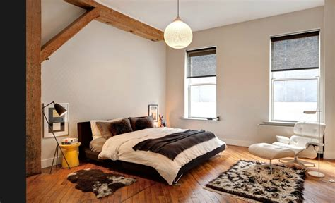 Un Loft Minimaliste 224 New York Planete Deco A Homes World Indogate Chambre Loft New Yorkais