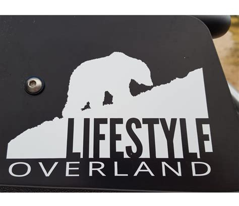 Overland Stickers lifestyle overland patches and stickers lifestyle overland