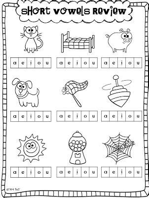 printable vowel games for kindergarten little minds at work freebie phonemic awareness