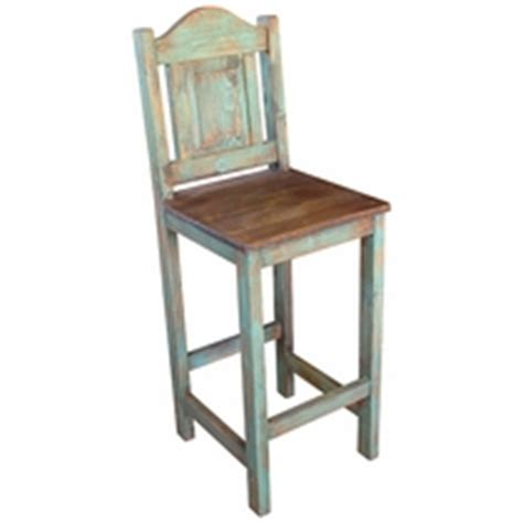 Mexican Painted Bar Stools by Rustic Painted Wood Bars And Bar Tables