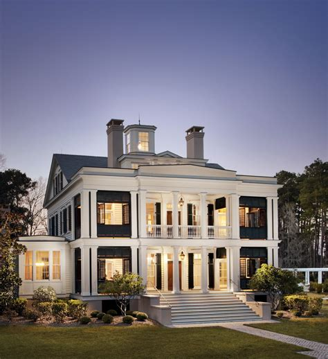 a revival home with southern charm classic homes