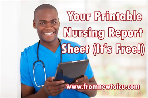 What Makes A Icu by What Makes The Nursing Report Sheet From New To Icu
