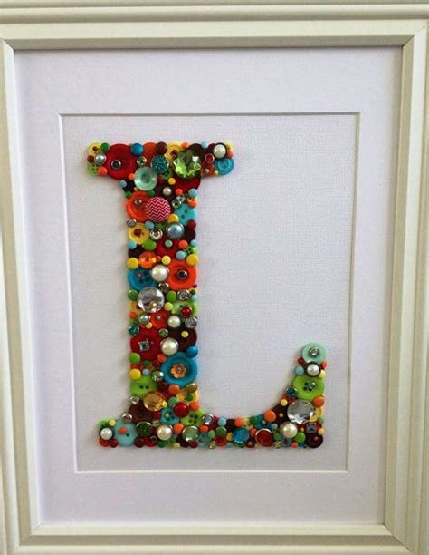 button craft projects alphabet button craft ideas creative and craft ideas