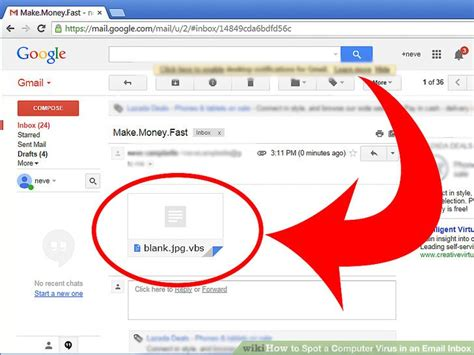 email yahoo virus remove how to spot a computer virus in an email inbox 6 steps