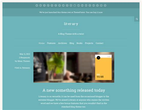 wordpress themes meaning meanthemes literary