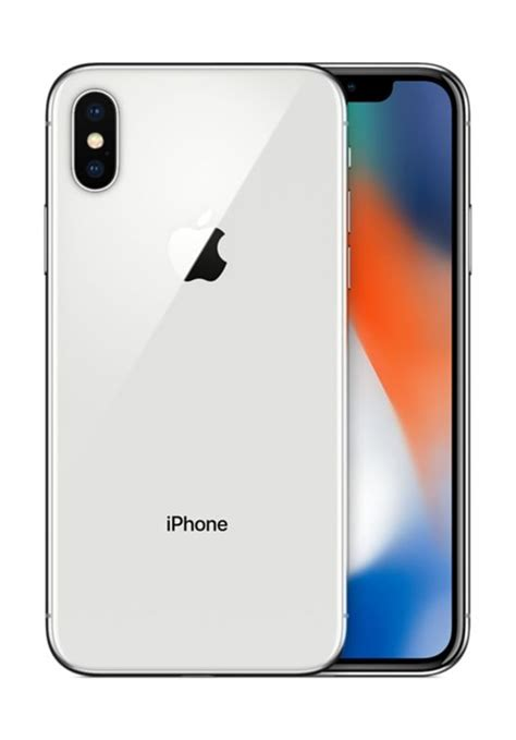 Iphone X 256gb Silver Geen Peel buy apple iphone x 256gb silver at best price in kuwait xcite