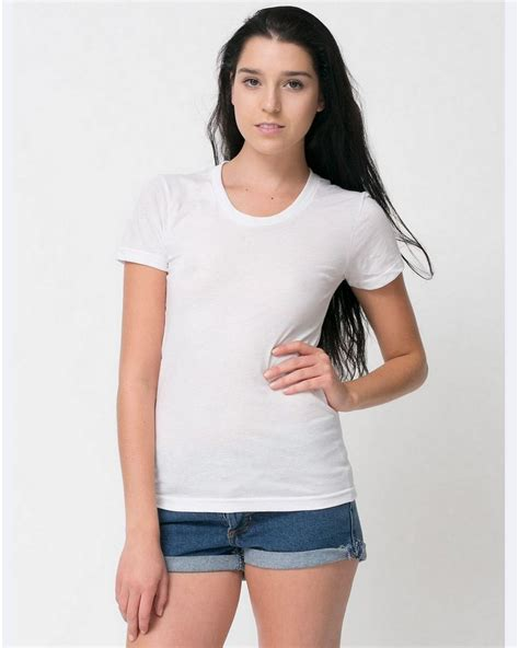 american apparel american apparel bb301 poly cotton sleeve