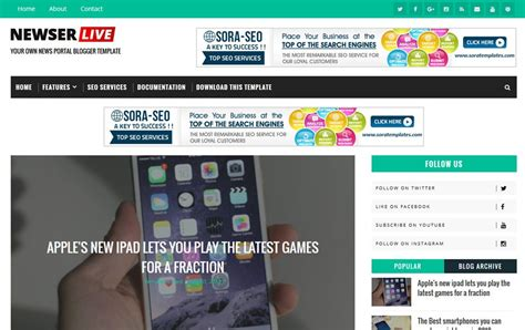free responsive news template 300 best free responsive templates 2018 187 css author