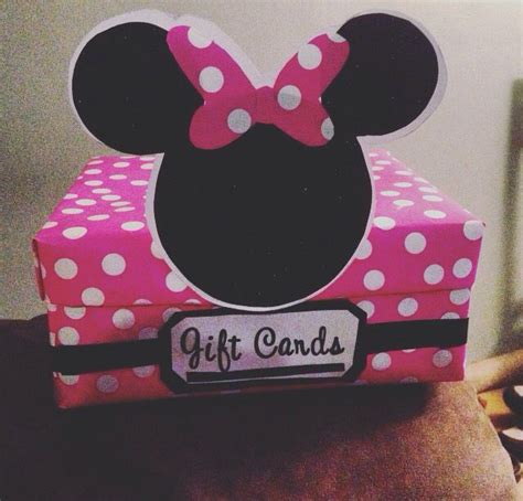 minnie mouse gift wrap minnie mouse gift card box items used shoe box gift wrap