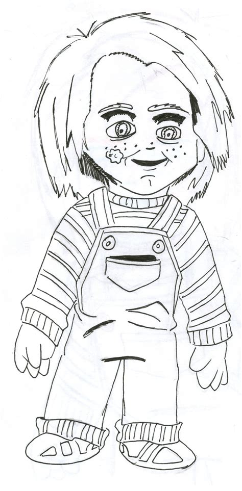 chucky coloring sheets 5 coloring pages