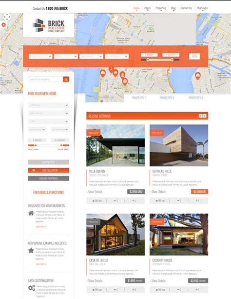 free microsite templates image collections templates