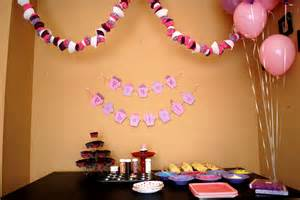Decoration Ideas For Party At Home by Simple Birthday Party Decorations At Home Decorating Of