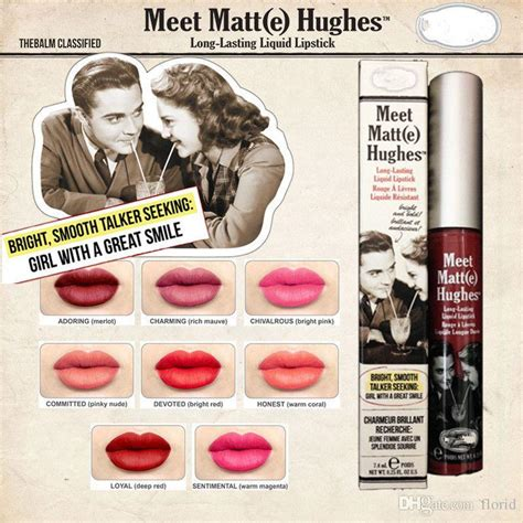 Sale The Balm Meet Matte Hughes Lasting Honest top quality balm cosmetics meet matt hughes e lasting