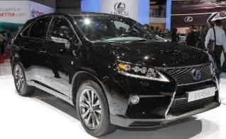 Lexus Truck Models 2016 Lexus Rx 450h Release Date Price Specs Hybrid
