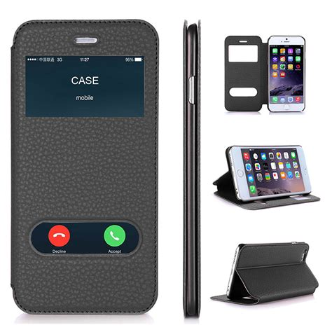 Casing Cover Iphone 55s66s6 Plus 6s Plus Flip Cover Mirror for apple iphone 6 plus iphone 6s plus luxury pu leather flip wallet cover with