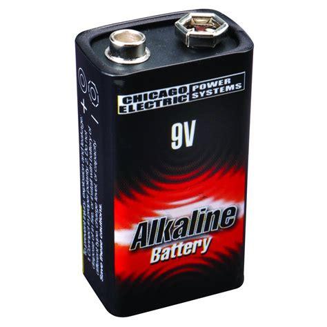 Alkaline Battery Shelf by 9v Alkaline Battery 1 Pk