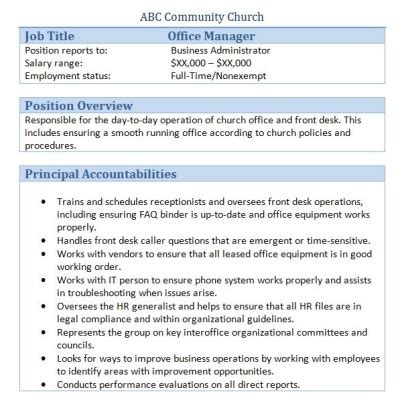briliant assistant front office manager hotel resume office manager