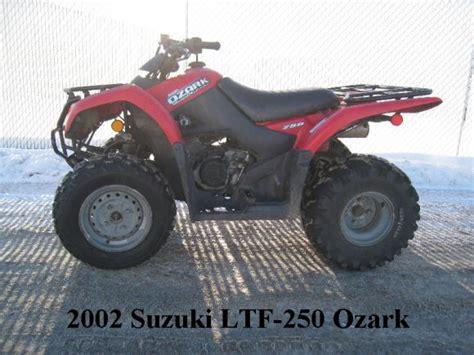 Suzuki Ltf250 2002 Suzuki Ltf250 Ozark 250