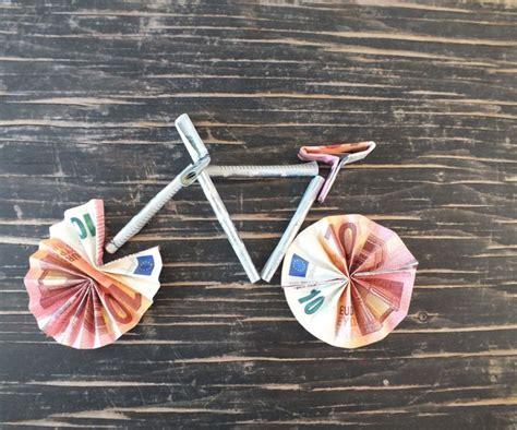 Motorrad Oder Velofahren by Die Besten 25 Geldgeschenk Fahrrad Ideen Auf Pinterest
