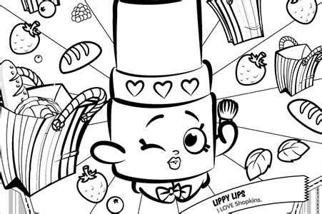 shopkins coloring pages lippy lips shopkins world india toys games kids toys online