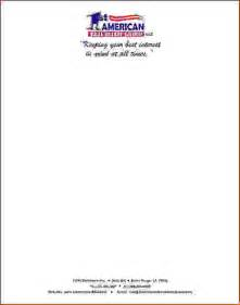 New Business Letterhead 6 Letterhead Example Memo Formats