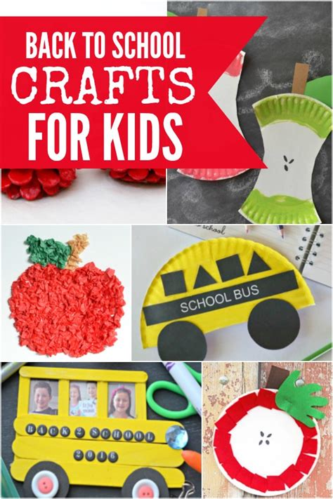 Back To School Crafts For 15 Crafts For
