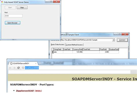 delphi tutorial service application web services soap server and client application vcl indy