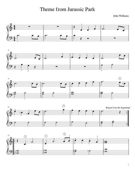 tutorial piano jurassic park pinterest the world s catalog of ideas