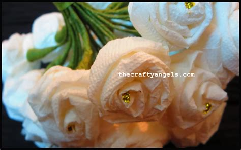 Make Tissue Paper Roses - how to make tissue paper flowers 8