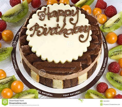 imagenes de cumpleaños tortas torta de cumplea 241 os del chocolate foto de archivo imagen