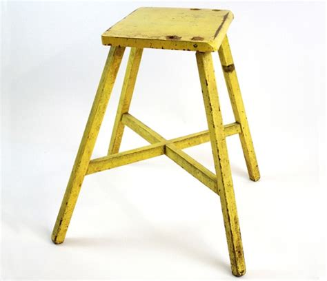 What Does A Yellow Stool by Yellow Stool For The Home