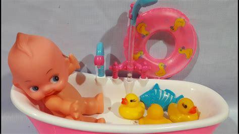 mainan mandi bayi mainan anak boneka bayi mandi dede bayi lucu mandi