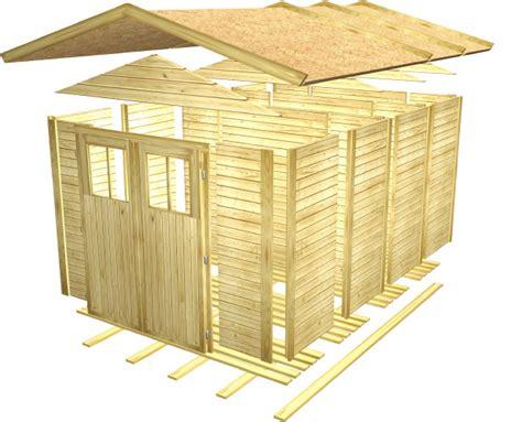 gartenhütte gartenhaus selber bauen schnell und einfach zum haus im