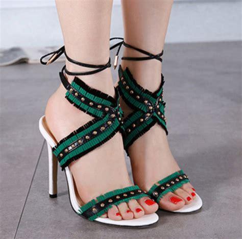 boho high heels shoes shanghaitrends high heels heels high heel